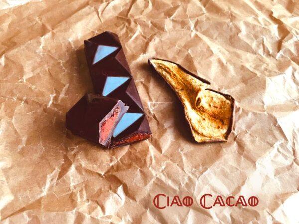 Čokoládová tyčinka Barretta s hruškovicí