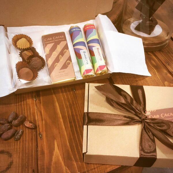 Dárkové balení čokolád Ciao Cacao