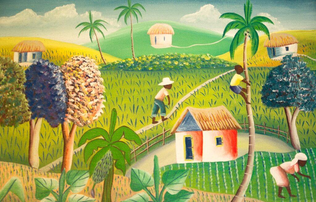 Obraz neznámého umělce z Haiti