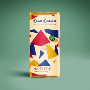 tmavá 75% čokoláda Haiti