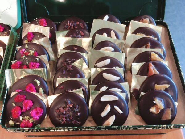 čokoládové dukátky