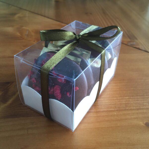 dárková krabička čokoládové dukátky 6ks