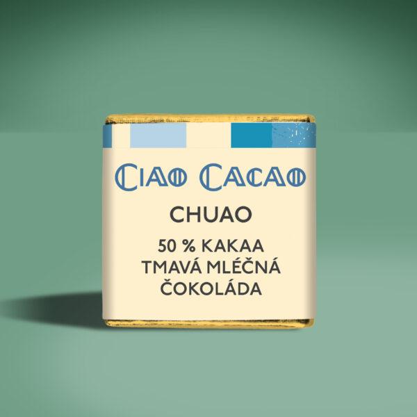 napolitan - degustační čokoládka Chuao 50% mléčná